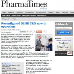 NIHR Pharma Times Cropped